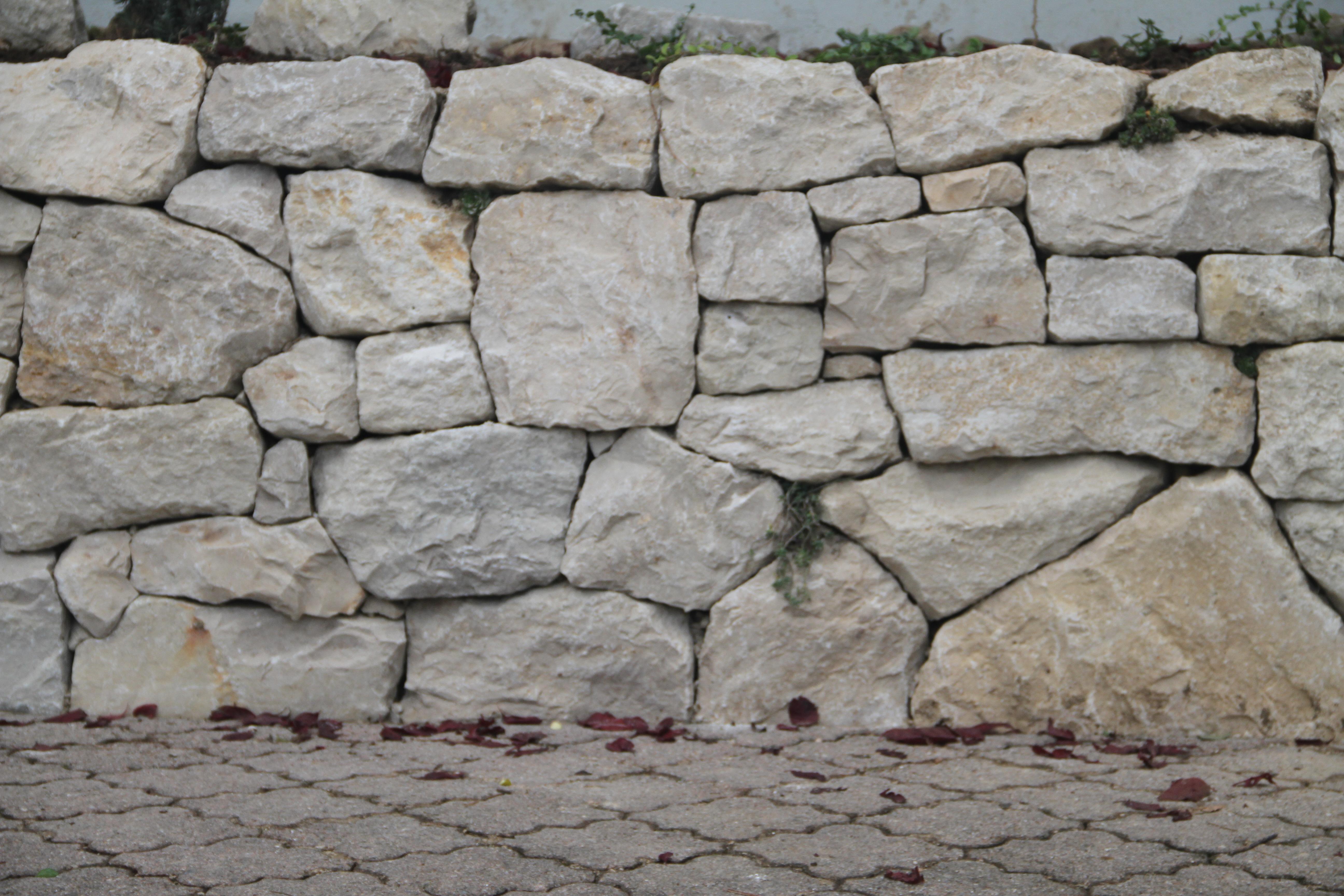 kalksteinmauer bauen – proxyagent, Garten seite